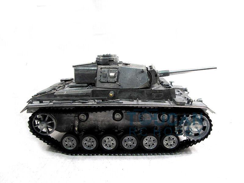 100% Metal Mato 1 16 Panzer III RTR RC Tank BB Shooting Pellet Metal Clolor 1223