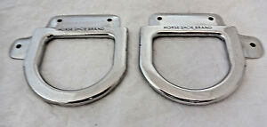 From Old Saddle Shop PAIR of STAINLESS Cinch Hardware for Western Saddle