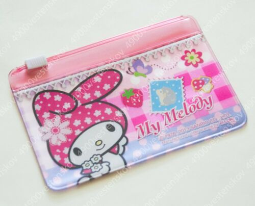 PICK 1pc Sanrio hello kitty little twin stars my melody .. Card Holder zip bag