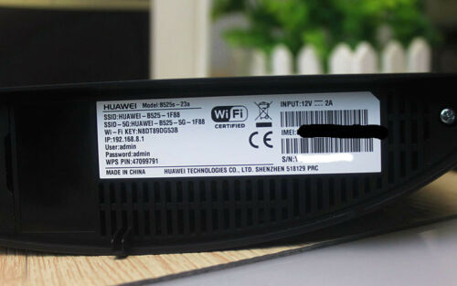 UNLOCKED Huawei B525s-65a CPE 4G LTE Cat6 Wireless Home Router FDD//TDD 300Mbps