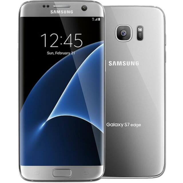 Samsung Galaxy S7 Edge - G935U - Silver Titanium - Factory Unlocked