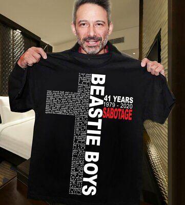 Beastie Boys Sabotage Official Men/'s Black T-Shirt US IMPORT