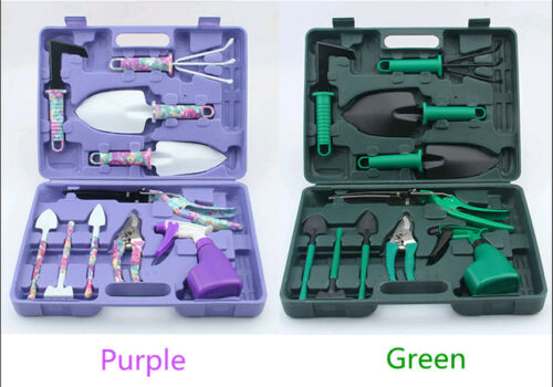 Tool Set Kit Garden DIY Case Ruler Rake Shovel Promotion 5//10pcs Gardening Plant