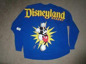 Disneyland Resort 2019 Pop-Up LS Mickey Mouse Shirt NWT Disney XXL $64.99 Value
