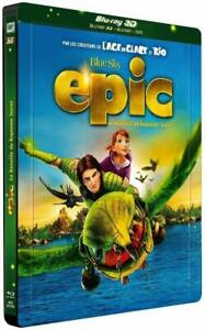 Epic-3D-Limited-Edition-Lenticular-Magnet-Steelbook-Blu-Ray-3D-amp-2D-amp-DVD