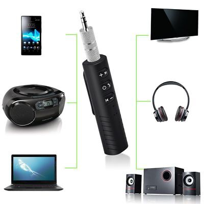 3.5mm AUX Audio Stereo Music Home Car Receiver Adapter Wireless Bluetooth V4.1//H