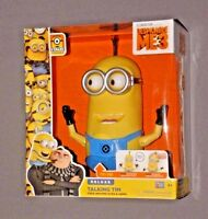 Despicable Me 3 Me3 Minion Deluxe Talking Tim Figure W Free Moving Eyes & Arms