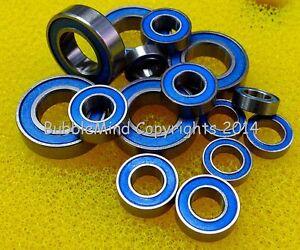 BLUE TT02D Rubber Sealed Ball Bearing Set For TAMIYA 58613 Toyota Supra