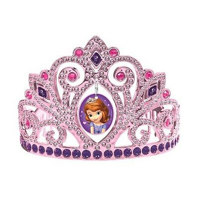 Disney Sofia the First Pink Birthday Party Princess Electroplated Tiara