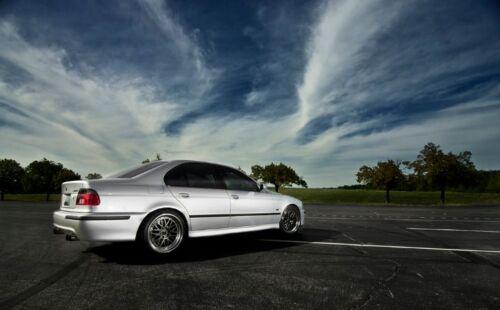 """BMW E39 E38 E46 E90 E92 E60 E64 E36 E30 Dual Burnt 3/"""" Tip Performance Muffler"""