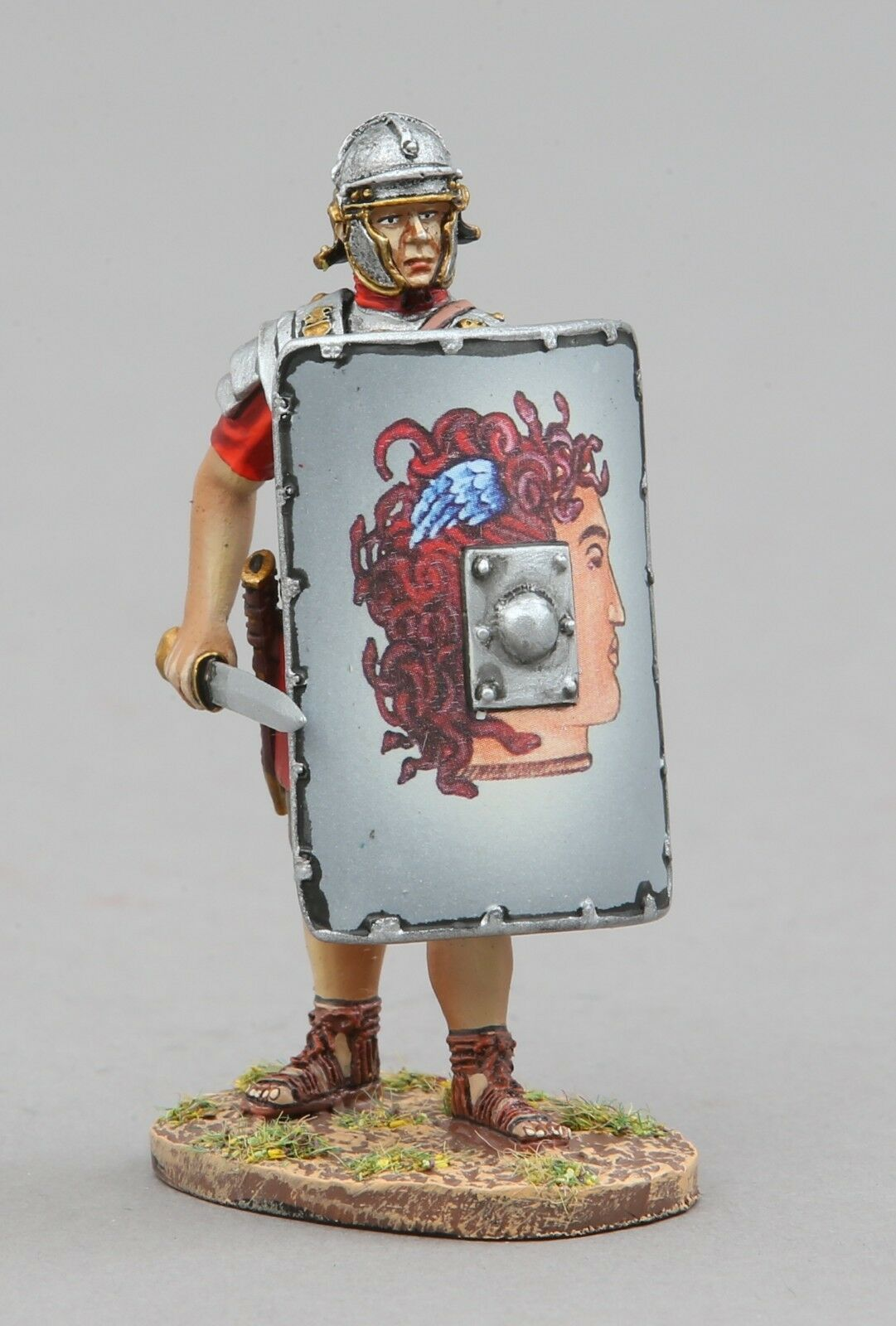 Thomas Gunn Rouomoa Impero ROM110D Minerva Legionario Scudo Muro MIB