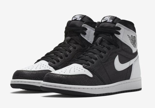 92cf377f90bee9 Nike Air Jordan 1 Retro High OG Jeter Re2pect Black White Size 12. 555088-