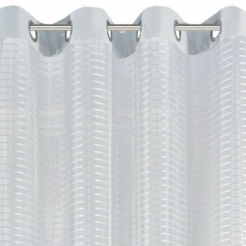 Netzvorhange Netz Vorhänge Ösenvorhang Ösenschal Kräuselband 140 250 cm