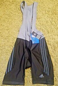 Men-s-Adidas-response-Cycling-BIB-SHORTS-Bike-Shorts-Size-M