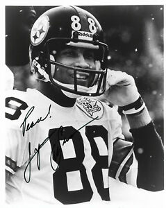 1ea957729 LYNN SWANN HAND SIGNED AUTOGRAPHED 8X10 FOOTBALL PHOTO WITH COA VERY ...