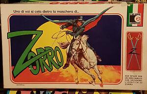 Clementoni - Jeu de société Zorro '70 New Vintage Rare!