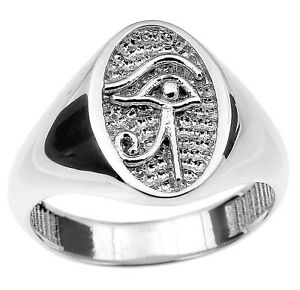 Sterling-Silver-Eye-of-Horus-Ring-Egyptian-Symbol-Protection-Royal-Power-Health