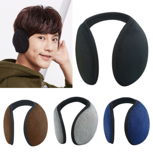 Winter Earmuffs Warm Knitted Ear Warmer Wear Earflap Adjustable Protector Cover