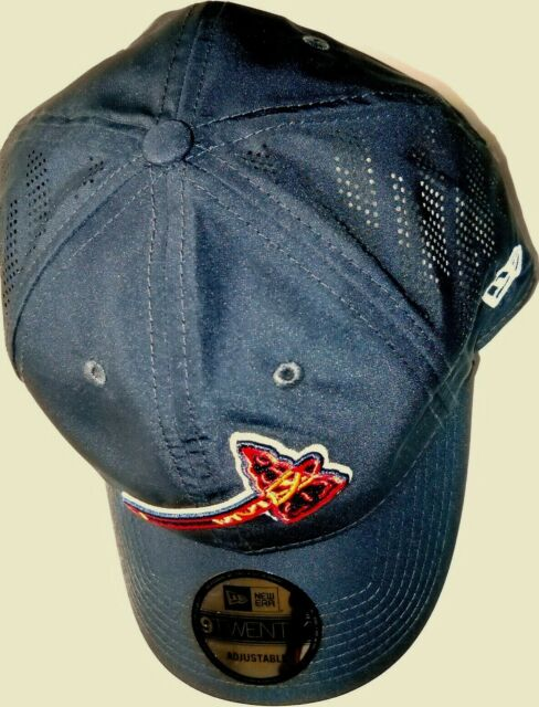 85a30221446d62 ATLANTA BRAVES UNISEX ADULT ADJUSTABLE BATTING PRACTICE CAP HAT W/ TOMAHAWK  LOGO