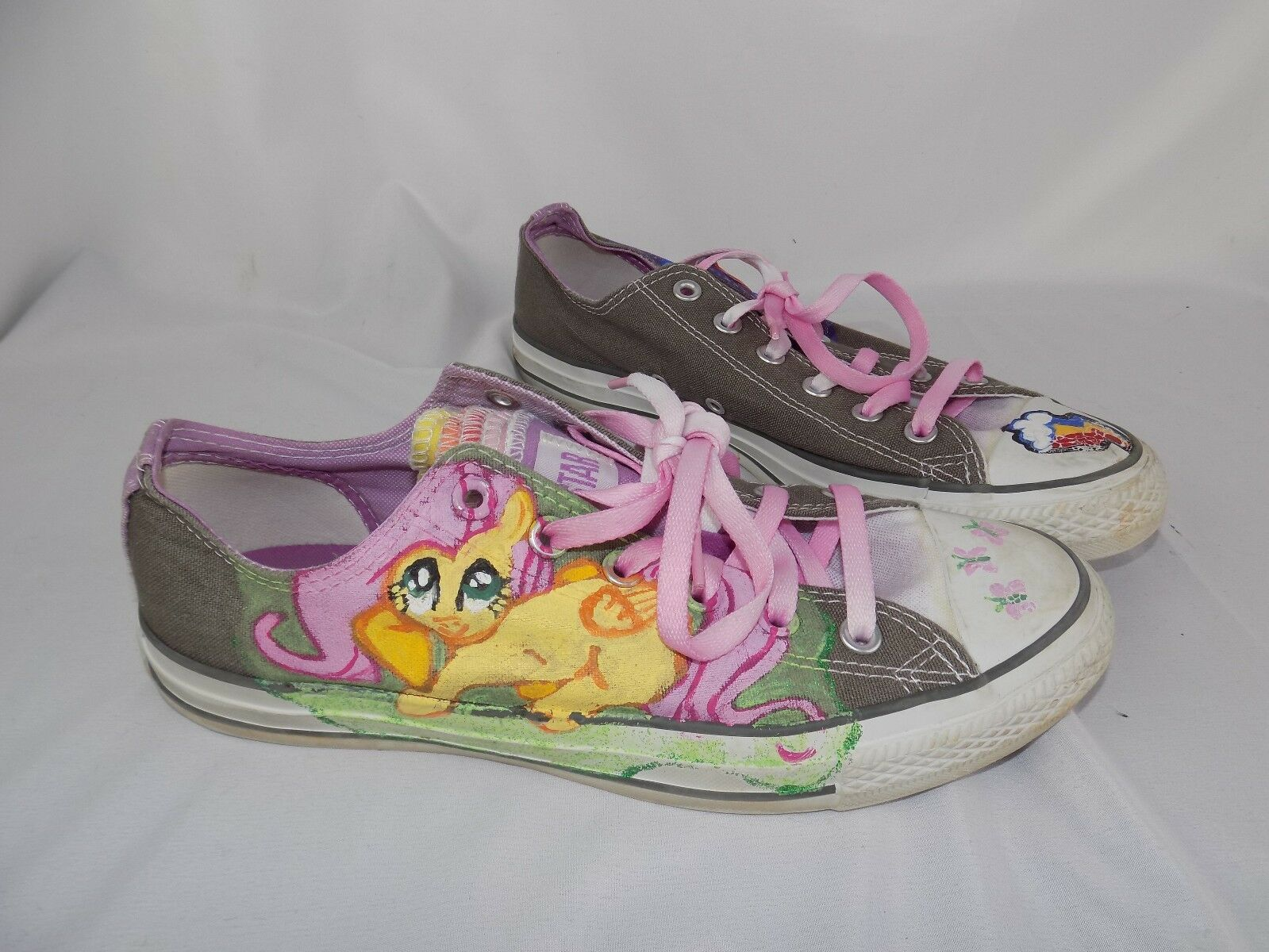 RARE Converse All Star My Little Pony shoes sneakers Women's Sz 10