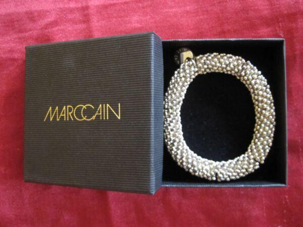 100% QualitäT Marc Cain Armband, Silber, Neu Mit Verpackung !!! Neueste Technik