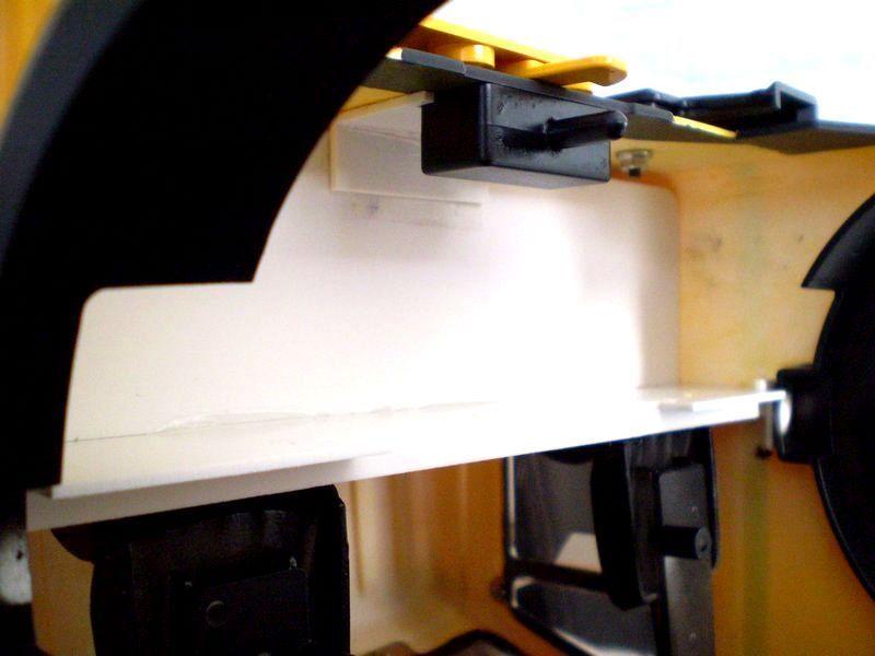 8LF - Fahrerhausboden für TAMIYA Mercedes 1838 1850 (M 1 1 1 14) + Scheibensatz 38c0a8