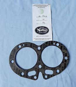 Details about NORTON COMMANDO ATLAS 750 COMPOSITE HEAD GASKET OEM PARTS   P/N 06-3844  18-1-H-2