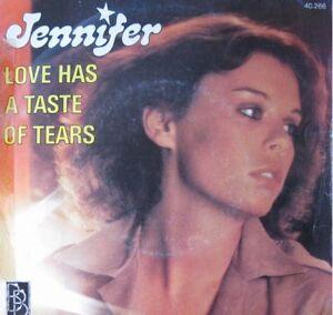JENNIFER-love-has-a-taste-of-tears-SP45T-7-034-1977-RARE