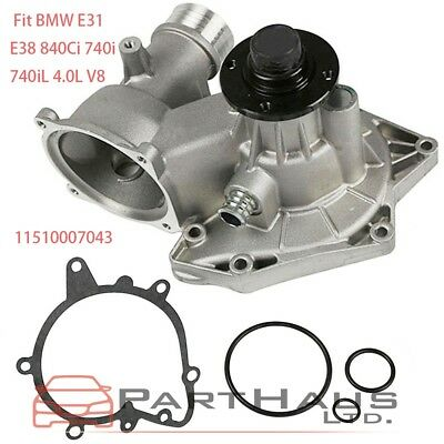 Engine Water Pump Gaskets for BMW 840Ci 740i 740iL E31 E38 M60 1994 1995