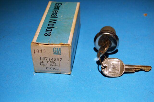 Suburban Lock And Key >> Nos 1973 74 75 76 77 78 Chevy Gmc Truck Suburban Blazer Jimmy Door Lock Cyl Keys