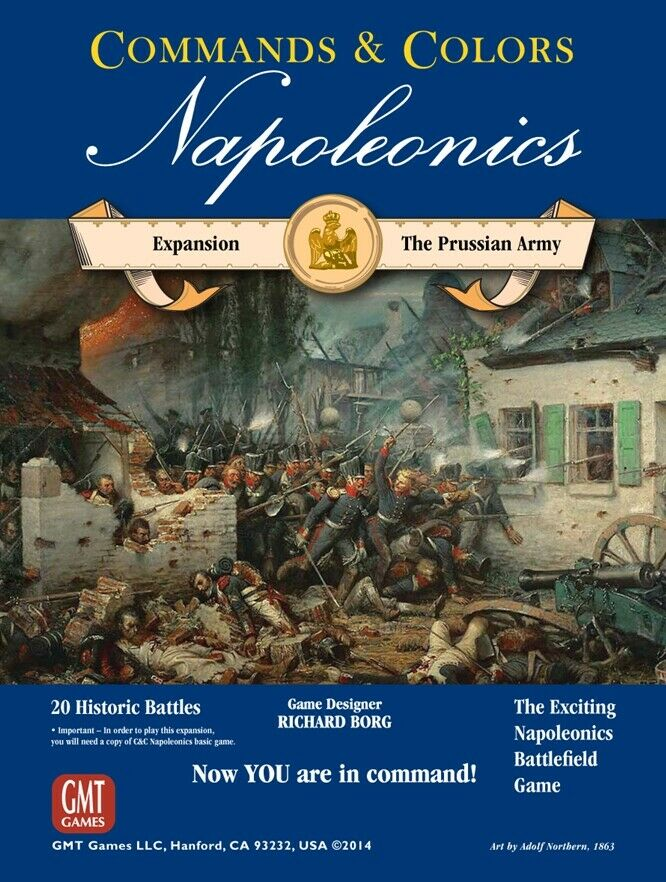 Command And Colours - Wargame - Napoleonics Prussian Army Expansion