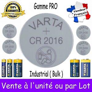 VARTA BULK CR2016 Dispo aussi Piles 2450 2430 2032 2025 LR03 LR6 LR14 LR20 6LR61