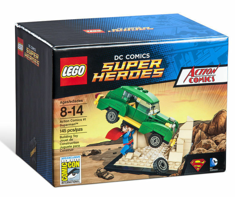 LEGO 2015 SDCC DC Comics Super Heroes Action Comics Superman - New Sealed