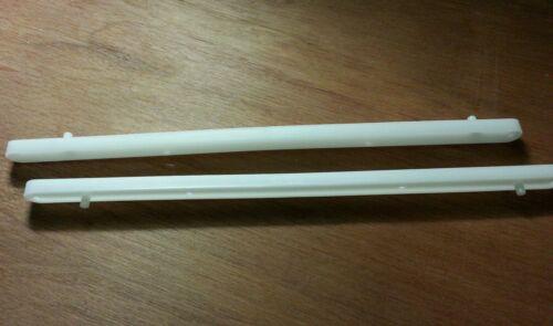 PLASTIC DRAWER RUNNERS WHITE