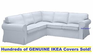 Marvelous Details About Ikea Ektorp 4 Seat Corner Sectional Sofa Slipcover Cover Nordvalla Light Blue Caraccident5 Cool Chair Designs And Ideas Caraccident5Info