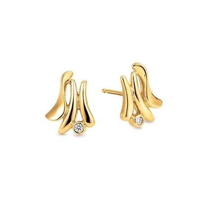 b683bf99cc3b Find Ørestikker Guld Diamant på DBA - køb og salg af nyt og brugt