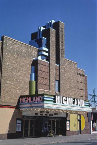 Highland Movie Theater St Paul MN Minnesota 1976 View 8x12 photo