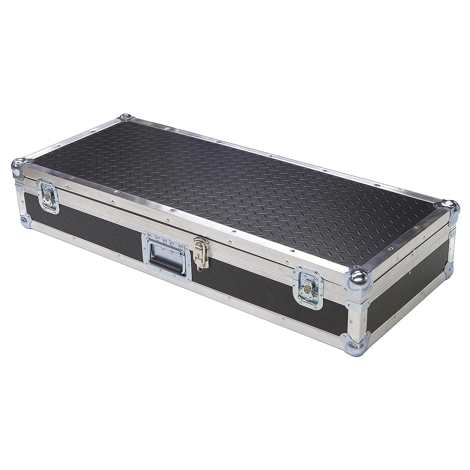 Diamond Plate Light Duty 1 4  ATA Case for KORG TRITON EXTREME 76 NOTE KEYBOARD