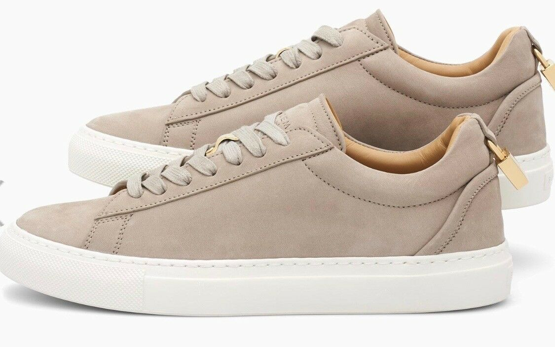 BUSCEMI Low Top Suede Turnschuhe in Fog US US US damen 8.5 - Euro 39.5 NEW IN BOX 2fb5cd