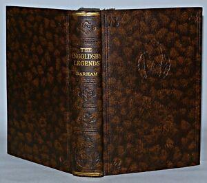 Geister Hexen, Geistergeschichten, Ingoldsby Legends, c1930, Vintage Buch-Classic