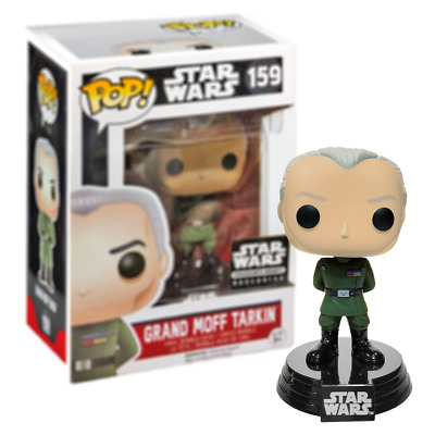 Neuf Star Wars Grand Moff Tarkin Pop Vinyl Bobble-Head Figure #159 Funko Officiel