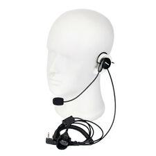 Retevis 2 Pin Earpiece Headset  Mic Finger PTT for Kenwood Retevis BAOFENG 888S