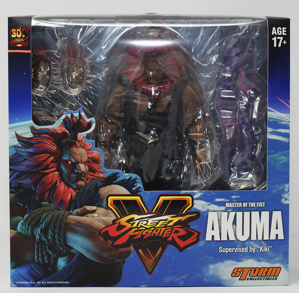 Street combatiente V Master of The Fist Akuma 112 Scale azione cifra