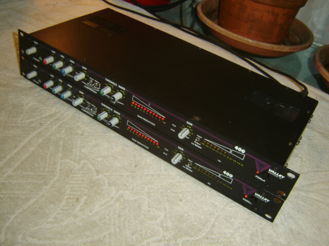 Valley 400, Stereo Pair, Mic Processor, Preamp, Eq, Compressor, Vintage Rack