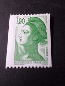 FRANCE-1986-timbre-2426-LIBERTE-039-roulette-neuf-VF-MNH-STAMP