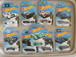 Hot-Wheels-2019-BATMOBILE-SERIES-Complete-set-of-5-with-TH-variations-Scooby