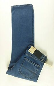 M-amp-S-Marks-and-Spencer-Mens-Medium-Blue-Denim-Jeans-W30-L29-Regular-Fit-New