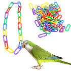 Cute 100 pcs PLASTIC NEON 10x16mm C CHAIN LINKS PARROT BIRD FOOT TOY PARTS DIY