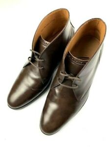 COLE-HAAN-Grand-OS-C20272-Mens-Leather-Chukka-Boots-Size-7-5-M-Us-Brown