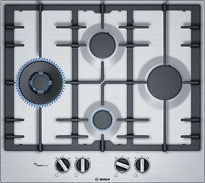 Piano-cottura-a-gas-Bosch-PCI6A5B90-di-60-cm-Acciaio-inox